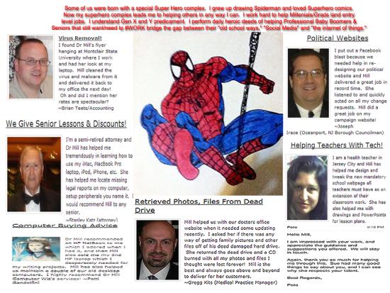 Testimonials Collage