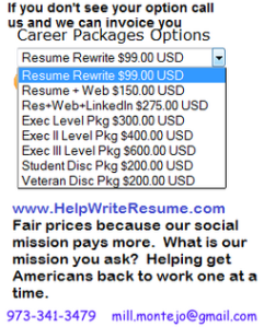 Current Resume Prices