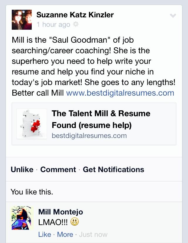saul goodman of career coaching mill job search superhero the