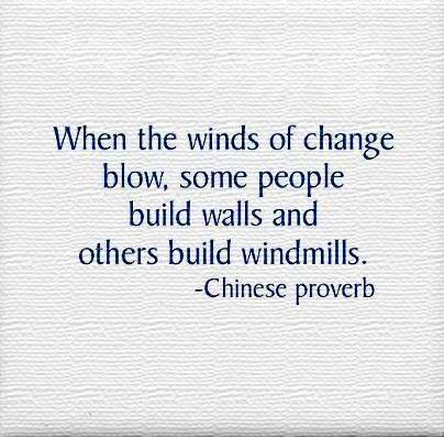 The Winds of Change Are Blowing - how are you adapting?